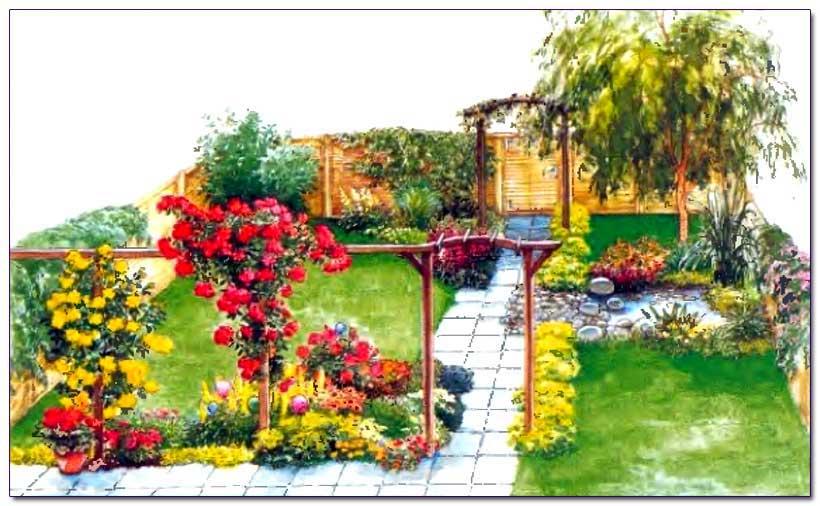 Small garden design variant 820 506 for Landscape design articles
